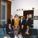 """The Founders of the """"International Center for Positive Psychotherapy"""" 1995 in Wiesbaden in the office and seminar rooms of Dr. Peseschkian"""