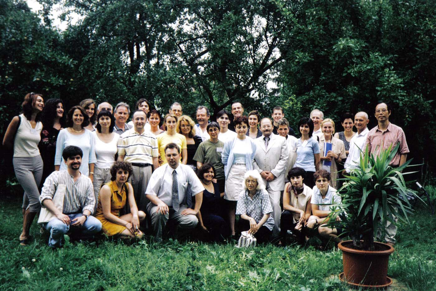 The first Training for Trainers for Positive Psychotherapy Conference in 2000 in my house in my hometown Buedingen (Germany), the starting point of a yearly tradition later to share and widen the knowledge and training quality in PPT